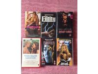 Original movie collection on VHS tapes