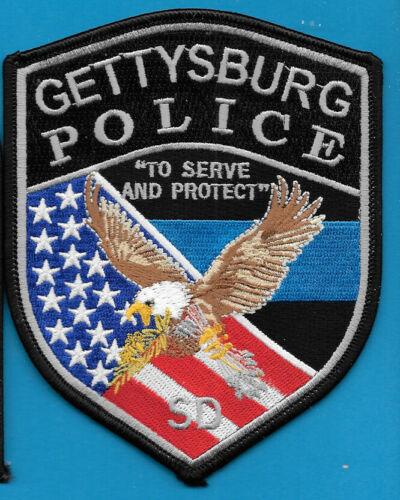 GETTYSBURG SOUTH DAKOTA SD POLICE DEPT EAGLE FLAG ARROW GPD PD (FIRE)
