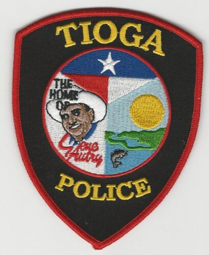 Tioga Police State Texas TX Home of Gene Autry
