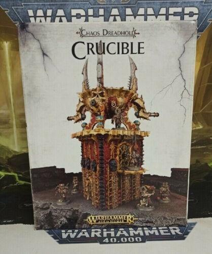Age of Sigmar Terrain Chaos Dreadhold: Crucible (Rare, OOP, New in Box)