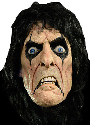 Alice Cooper Mask Face Makeup Singer Shock Rock Glam Metal Scary License Costume