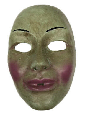 Purge Face Mask Scary Horror Halloween Fancy Dress Female Purge](Scary Female Mask)