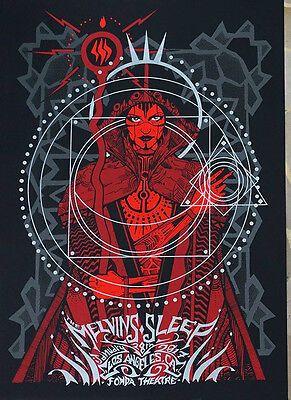 MELVINS & SLEEP Gig Poster 1/28/17 by Malleus MINT (S/N: 41/99)