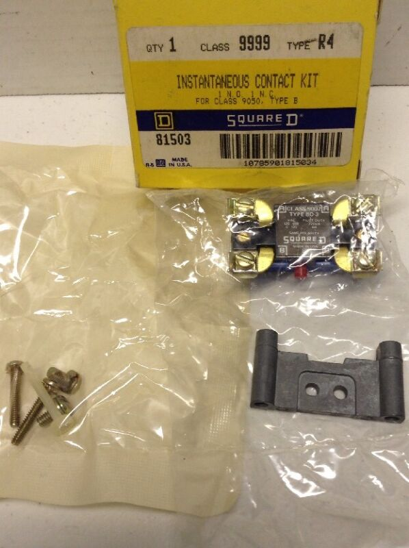 Square D 9999 R4 Instataneous Contact Kit 81503