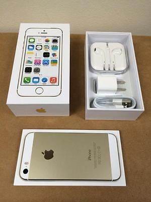 $214.99 - New in Box Iphone 5s 16 gb Gold Factory Unlocked for ATT T-Mobile