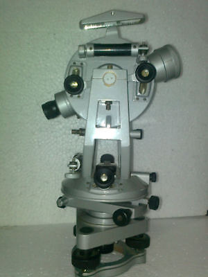 Vernier Transit Theodolite With Tripod Stand Levels Equipment Surveying