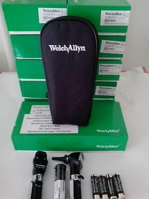 Welch Allyn Otoscopeopthalomscope Diagnostic Set - New Item 95001