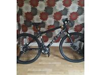 For sale like new mens carrera subway hybrid bike