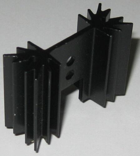 Compact Heavy Duty TO-220 Aluminum Heatsink for MOSFET , Regulator , Power Trans