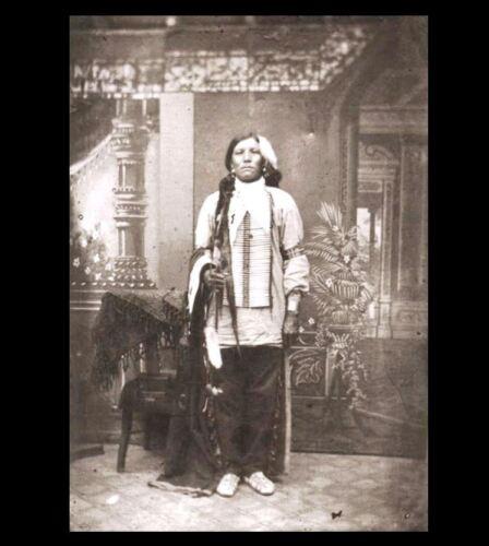 8x10 1877 Crazy Horse DISPUTED PHOTO Oglala Lakota Indian,Custer