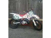 Yamaha yz 250 motorcross bike crosser 85 125 450 cr ktm kx rm kxf yzf crf rmz quad moped