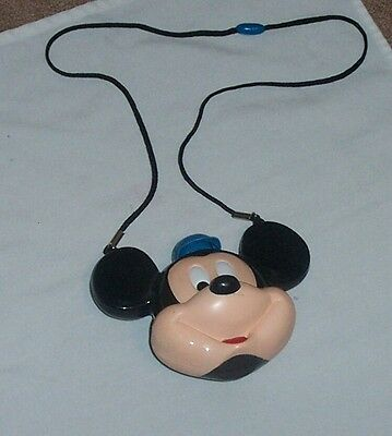 Mickey Mouse Hat and Canteen