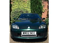 MG TF 135 British Racing Green - Full Service History