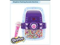 Shopkins flashing karaoke machine