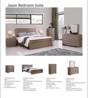 Jason bedroom Queen Bed