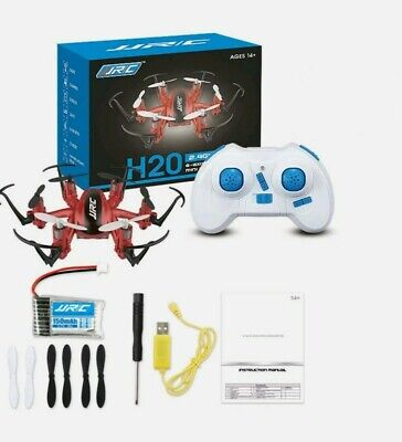 JJRC H20 Mini RC Quadcopter 2.4G Nano Hexacopter Drone 6-axis Red  From USA