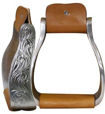 Showman BLACK Aluminum Stirrups w// Silver Engraving /& CLEAR Rhinestones NEW TACK