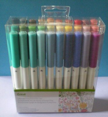 Cricut Ultimate  ~ Fine Point Pen Set 30/Pkg ~ NEW