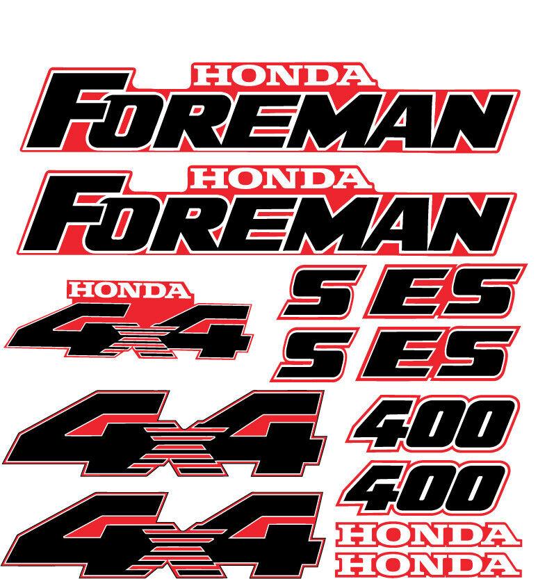 Foreman S/ES 400 450 Red