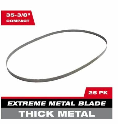 Milwaukee 35-38 In. 810 Tpi Compact Extreme Thick Metal Cutting Band Saw Blade