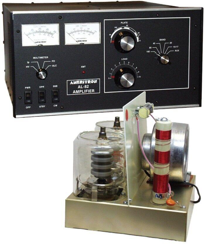 Ameritron Al 82 1500w Dual 3 500z Linear Amplifier Ebay