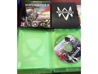 WatchDogs 2 Delux edition for Xbox One