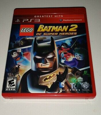 PS3 LEGO Batman 2: DC Super Heroes - Complete w/Manual Excellent Tested