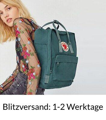 Fjällräven Kanken 16L Frost Green Rucksack Schule Freizeit Tasche Backpack