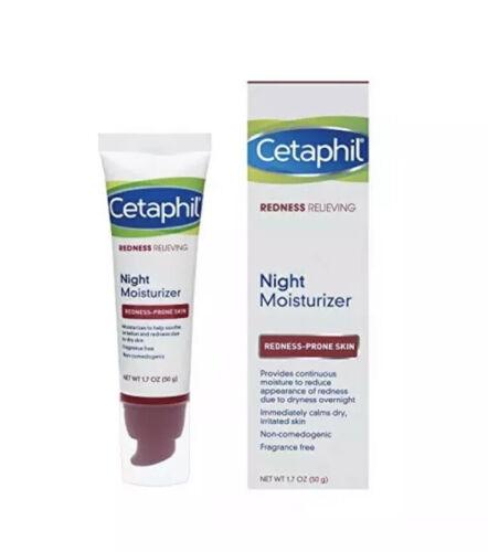 Cetaphil Redness Relieving Night Moisturizer, 1.7 Ounce No B