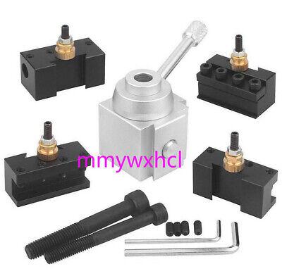 Mini Quick Change Tool Post Holder Aluminum Alloy Kit For Tablehobby Lathe 12pc
