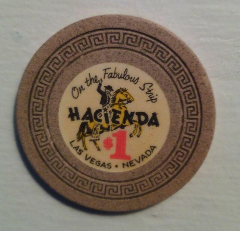Hacienda Casino Las Vegas $1 Chip 1960