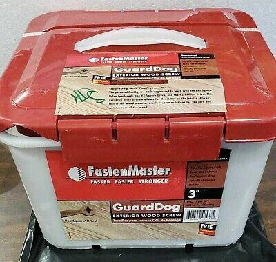 Fasten Master Guard Dog Exterior Wood Screw 3 1750 Screws 500 Sq Ft Of Decking