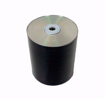 100 pieces Blank DVD+RW DVDRW 4x Silver Shiny Top 4.7GB Rewritable Media Disc