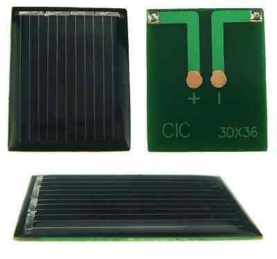 Mini Cella Pannello solare fotovoltaico 2v  50mA