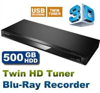 PANASONIC DMR-BWT460GN -3D Blu-ray-REGION FREE DVD-Twin HD Tuner