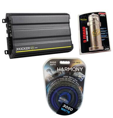 Kicker NEW 12CX12001 1200 Watt Amp Monoblock Car Audio MonoD