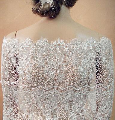 Chantilly Blumenmuster Tanzend Kleid Spitze Stoff Wimper Kostüm Stretch DIY - Spitze Stretch Kostüm
