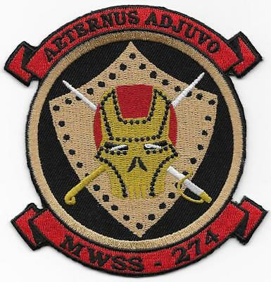 USMC MWSS-274 Marine Wing Support Squadron Iron Men Active Patch NEW!!!