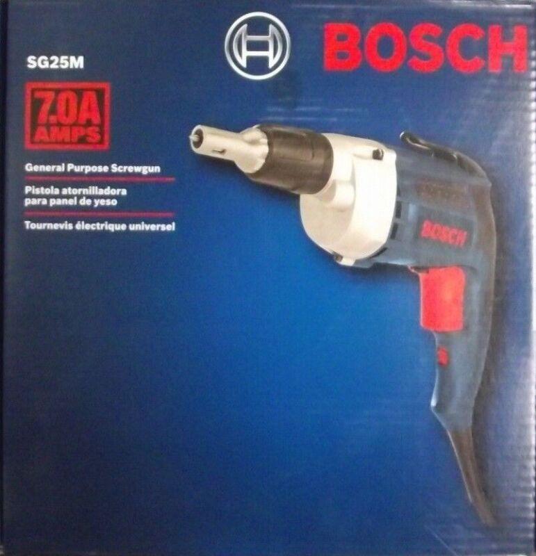 Bosch SG25M 2500 RPM General Purpose Screwgun 7.0 Amps Switzerland