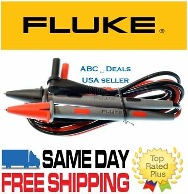 Fluke Tl71 10a Premium Test Leads Genuine Digital Multimeter Probes Usa Seller