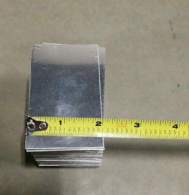 Aluminum Sheet Five Piece 3 X 2 0.040 Thick 18 Gauge Practice Tig Weld Mig