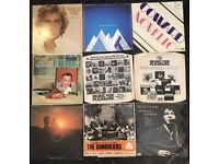 9 x vinyl albums of mixed genres