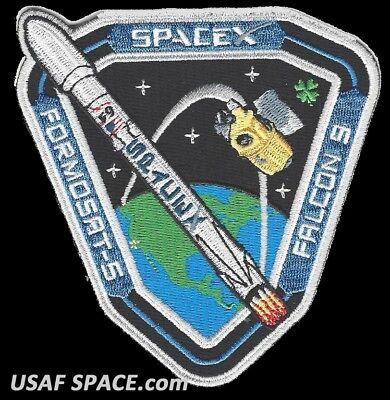 NEW FORMOSAT-5 - SPACEX ORIGINAL FALCON 9 Launch - VAFB SATELLITE Mission PATCH