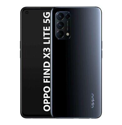 "Cellulare Smartphone OPPO Find X3 LITE 5G 128GB+8GB RAM 6,4"" Starry Black"