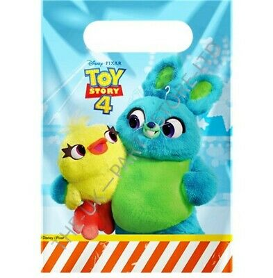 Disney TOY STORY 4 PARTY LOOT BAGS Birthday - Toy Story Birthday Party Supplies