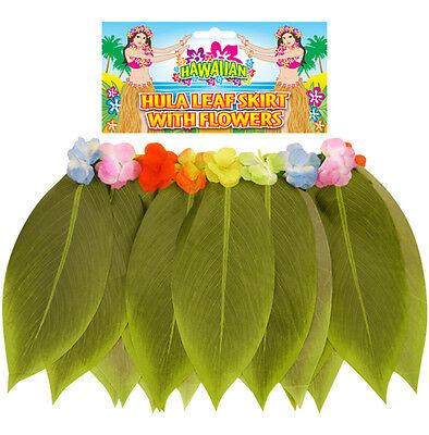 Damen Sexy Hawaii Hula Banane Blatt Rock Blumen (Sexy Hula Kostüme)