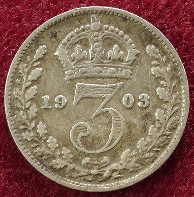 GB Threepence 1903 (B0502)