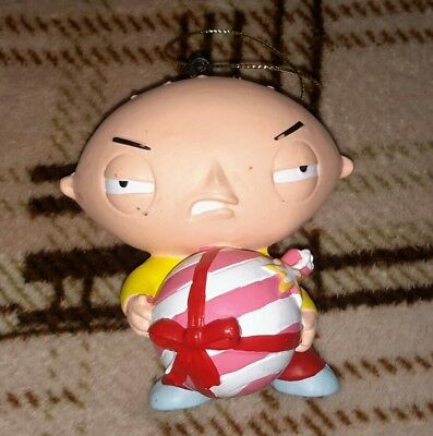 FAMILY GUY Kurt Adler Stewie Griffin CHRISTMAS ORNAMENT FREE SHIPPING! ()