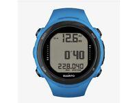 Suunto D4i Novo Blue Dive Watch and Transmitter