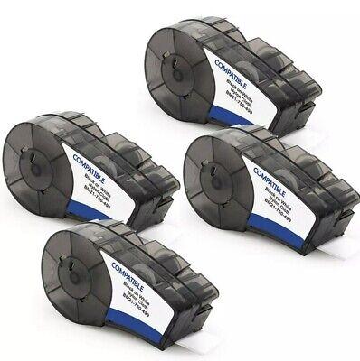 4pk - Bmp21-plus Labels High Adhesion Nylon 19.1mm Compatible Brady M21-750-499